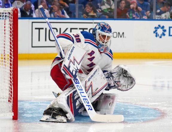 New York Rangers Henrik Lundqvist Jesper Fast Leading The New Kids