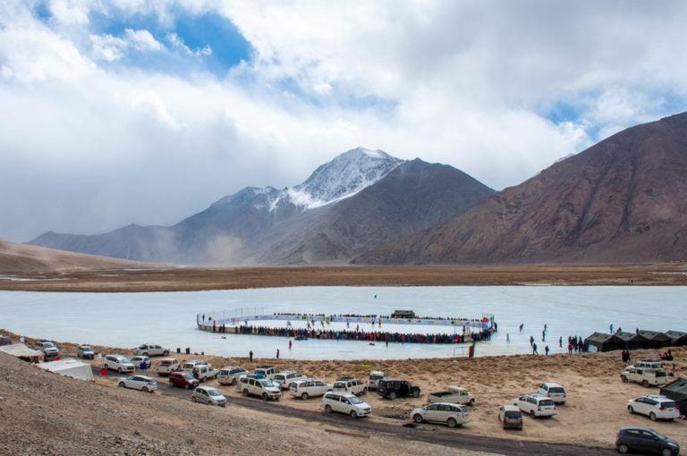 Highest Altitude Hockey Game Landscape
