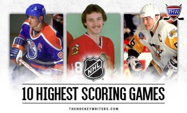 Top 10 Highest Scoring NHL Games of the Modern Era