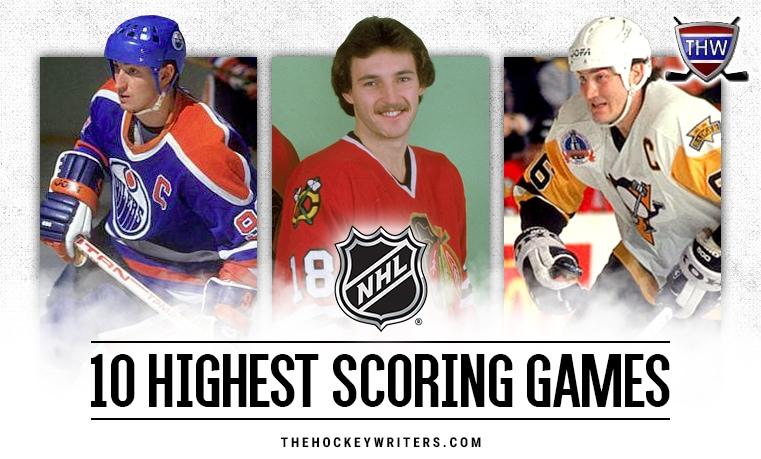 10 highest scoring games in the modern NHL (1967-present)