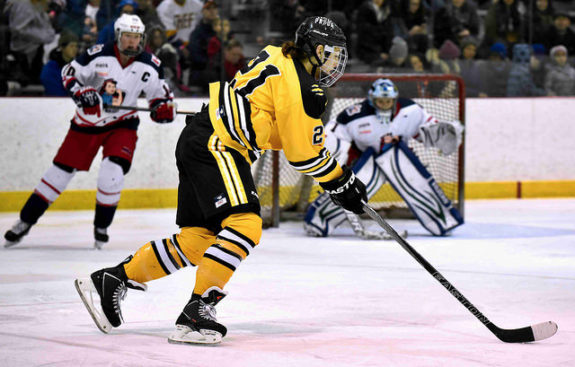 Hilary Knight of the Boston Pride (Photo Credit: Troy Parla)