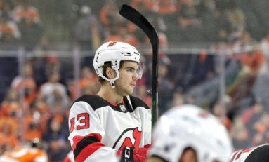 Hischier, Blackwood Lead Devils to 2-1 Win Over Islanders
