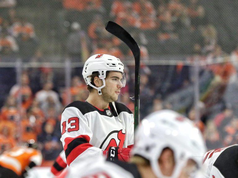 Nico Hischier New Jersey Devils