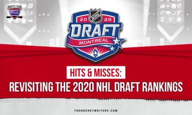 Hits & Misses: Revisiting the 2020 NHL Draft Rankings