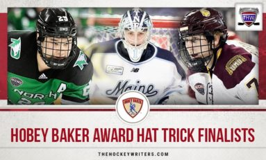 College Hockey Report: Hobey Baker Award Hat Trick Finalists