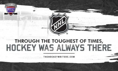 Through the Toughest Times, Hockey Was Always There