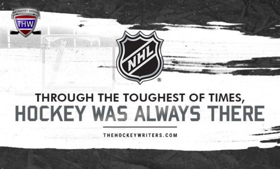 Through the Toughest of Times, Hockey Was Always There