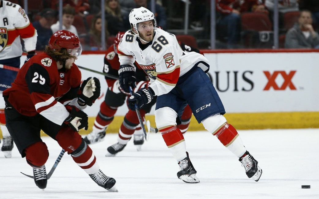 Florida Panthers Mike Hoffman