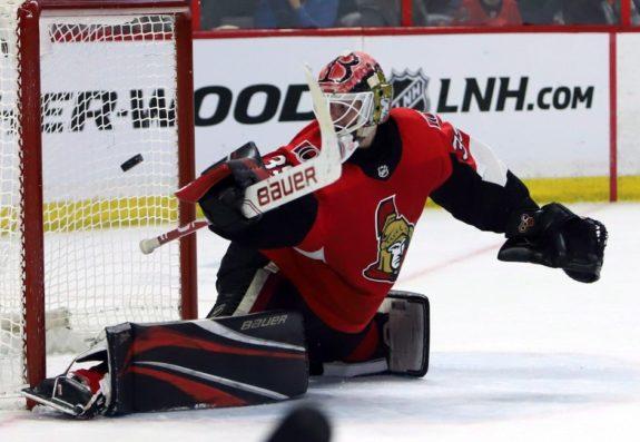 Ottawa Senators Marcus Hogberg
