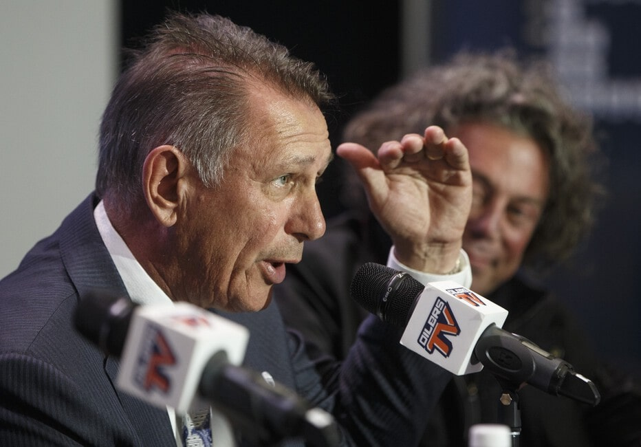 Edmonton Oilers general manager Ken Holland