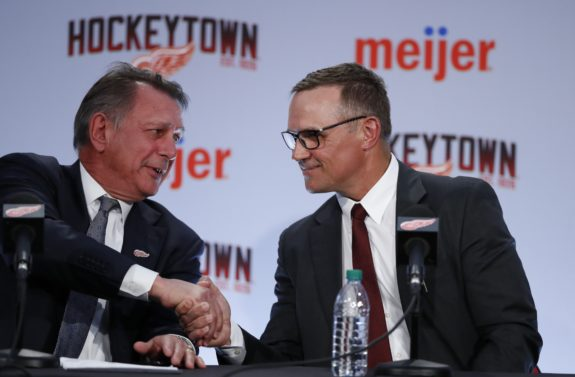 Steve Yzerman, Ken Holland