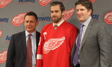 Former Red Wings Reigning Over the NHL