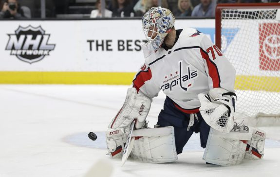 Washington Capitals Braden Holtb
