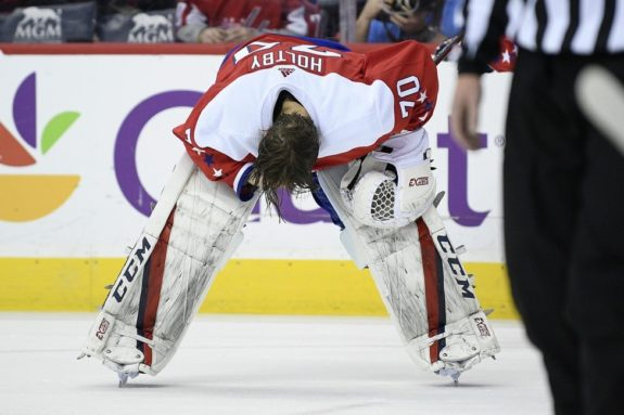 Washington Capitals goaltender Braden Holtby