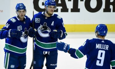 J.T. Miller Scores Twice, Canucks Hand Florida Panthers 7-2 Drubbing