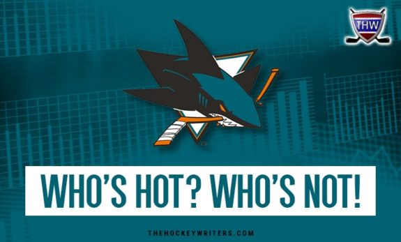 San Jose Sharks Stock Watch Who's Hot? Who's Not!