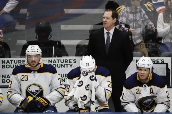 Buffalo Sabres former head coach Phil Housley