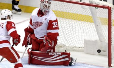 Red Wings' Howard Is Due for a Decline