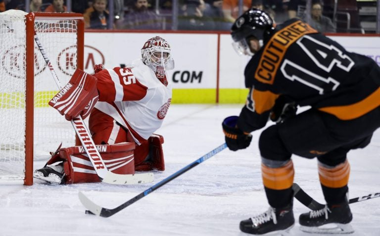 Sean Couturier, Jimmy Howard