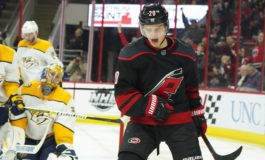Hurricanes Pounce on Predators - Aho Gets Hat Trick