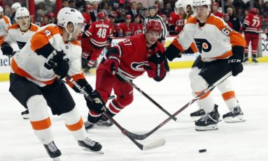 Hurricanes Down Flyers - Improve Playoff Hopes