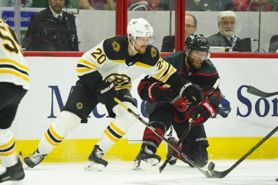 Carolina Hurricanes Jordan Staal Boston Bruins Joakim Nordstrom