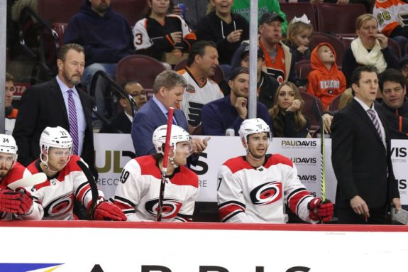 Hurricanes bench coaches