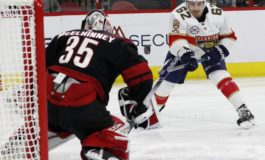 Hurricanes Past Panthers on Martinook's Hat Trick
