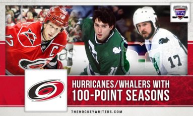 Hurricanes/Whalers With 100-Point Seasons