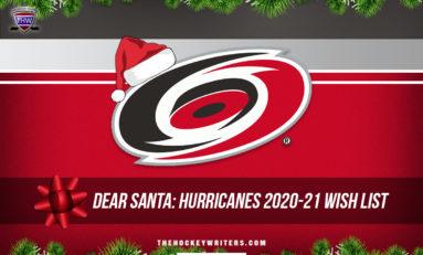 Dear Santa: Hurricanes' 2020-21 Wish List