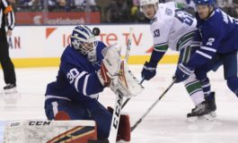 Maple Leafs Manhandle Canucks - Hutchinson Gets Shutout