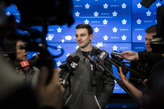 Toronto Maple Leafs Zach Hyman