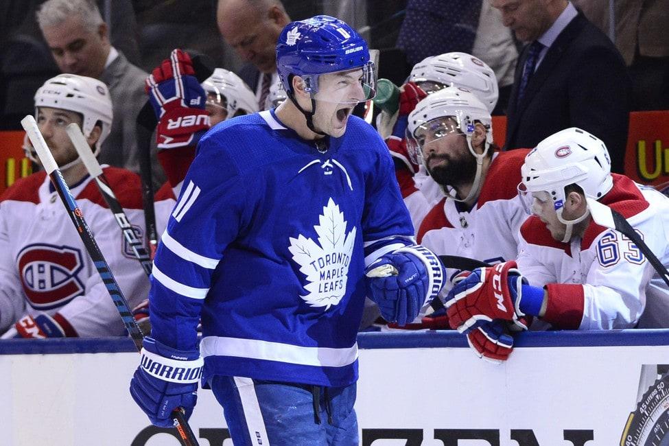 Toronto Maple Leafs Zach Hyman