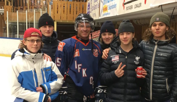 Kevin Porter, Hockey, IFK Ore, Sweden