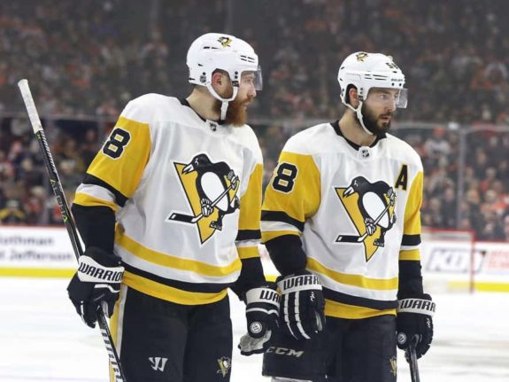 Ian Cole Kris Letang Penguins