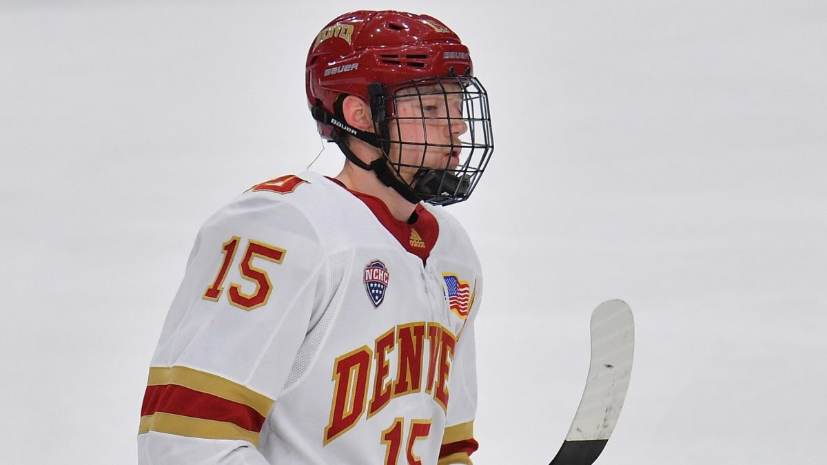 Ian Mitchell, Denver Pioneers