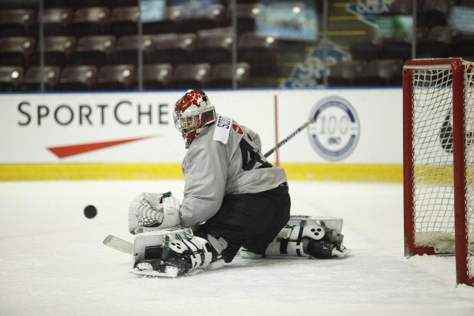 Team Canada and Toronto Maple Leafs prospect goaltender Ian Scott