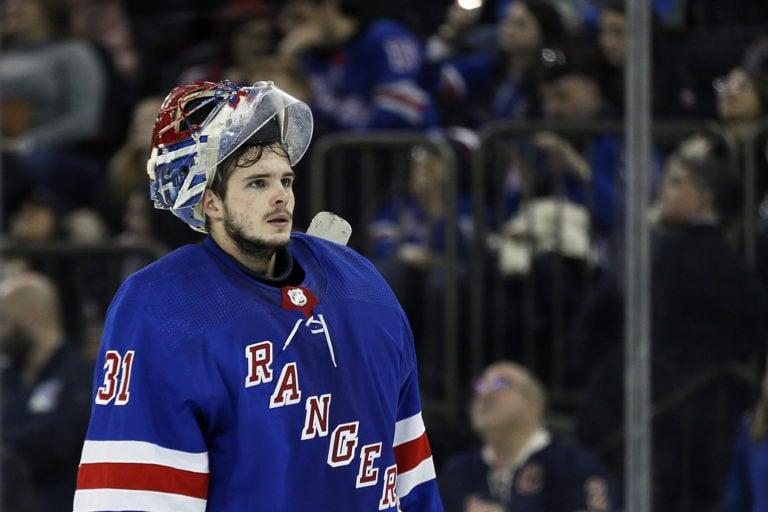 New York Rangers Igor Shesterkin/Shestyorkin