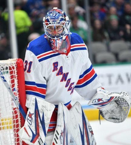 Igor Shesterkin (Shestyorkin) New York Rangers