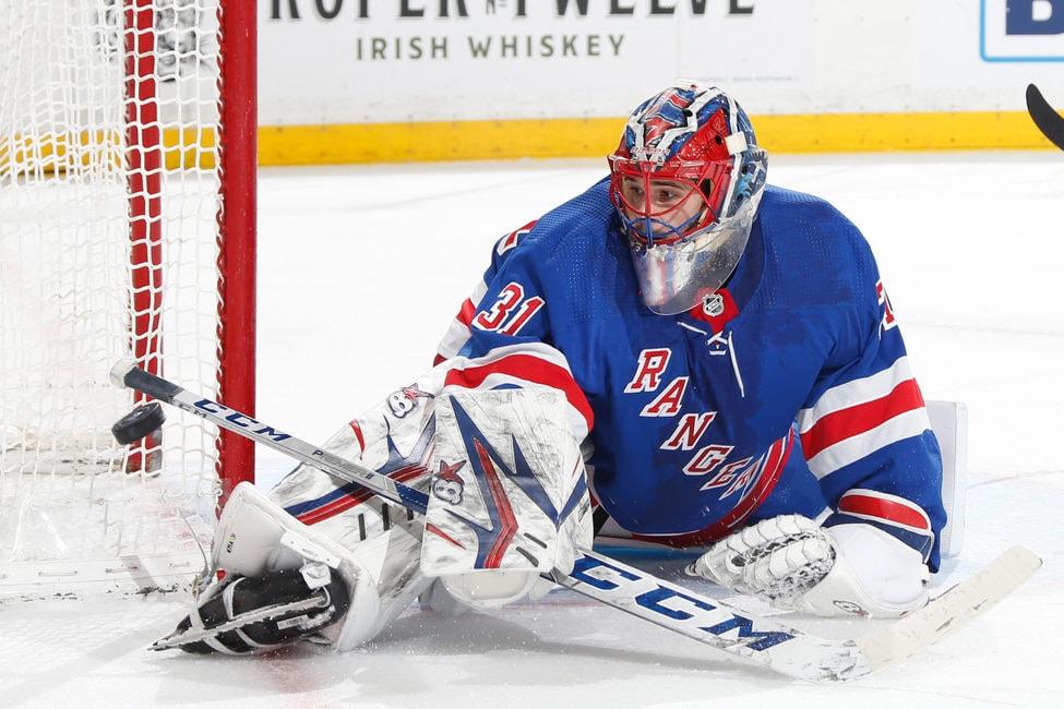 Igor Shesterkin/Shestyorkin New York Rangers