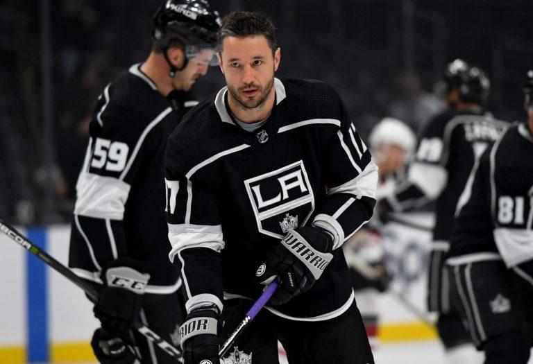 Los Angeles Kings left wing Ilya Kovalchuk