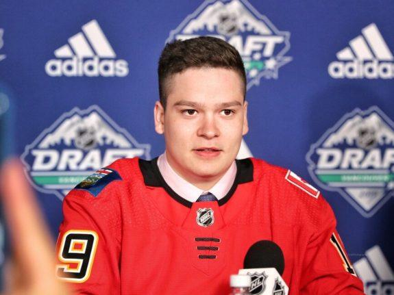 Ilya Nikolayev Calgary Flames Draft