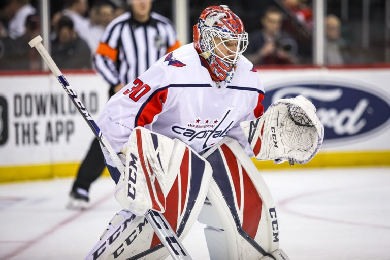 Ilya Samsonov Washington Capitals
