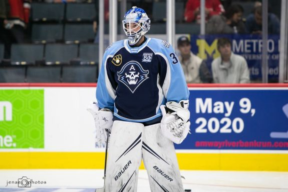 Connor Ingram Milwaukee Admirals