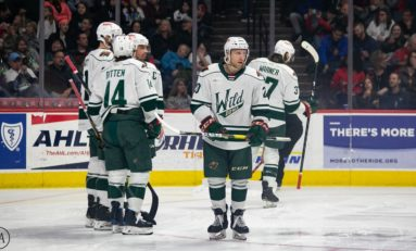 AHL Central News: Wild Stay Hot