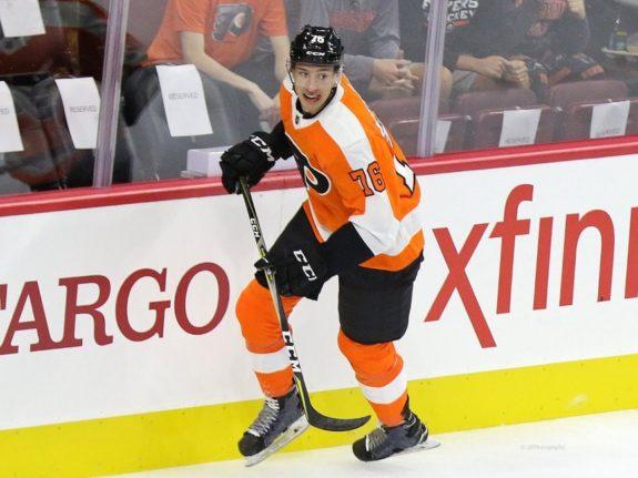Isaac Ratcliffe Philadelphia Flyers