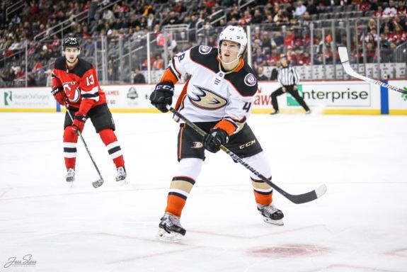 Isac Lundestrom Anaheim Ducks