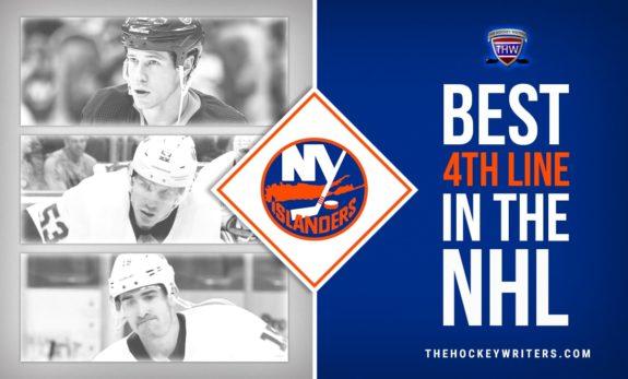 Matt Martin, Casey Cizikas and Cal Clutterbuck Best 4th Line in the NHL New York Islanders