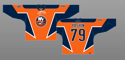 New York Islanders 3rd jersey 2002-07