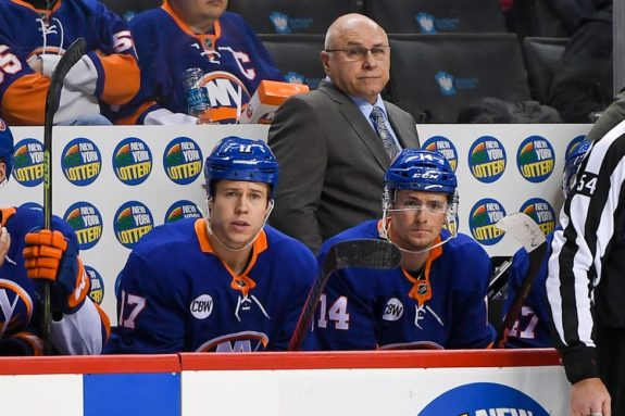 New York Islanders Head Coach Barry Trotz